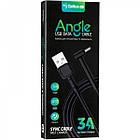 Кабель USB (папа) = microUSB (папа) Gelius Pro Angle Black, фото 3