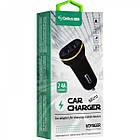 Автомобільний зарядний пристрій Gelius Ultra Voyager GU-CC02 2USB 2.4 A + Cable Type-C Black, фото 2
