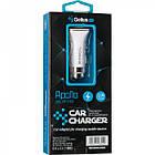 Автомобільний зарядний пристрій Gelius Pro Apollo GP-CC01 2USB 3.1A + Cable iPhone X White, фото 7