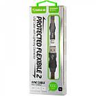 Кабель USB (папа) = Lightning (папа) Gelius Pro Flexible 2 GP-UC07i Black, фото 3
