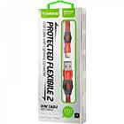 Кабель USB (папа) = Lightning (папа) Gelius Pro Flexible 2 GP-UC07i Red, фото 3