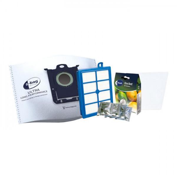 Мішок для пилососа одноразовий S-BAG + фільтр Electrolux ESKD9