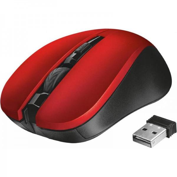 Мишка безпровідна Trust Mydo (21871) Red USB