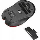 Мишка безпровідна Trust Mydo (21871) Red USB, фото 4