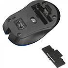 Мишка безпровідна Trust Mydo (21870) Blue USB, фото 4
