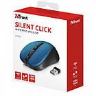 Мишка безпровідна Trust Mydo (21870) Blue USB, фото 5