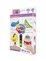 Набор теста для лепки TM Lovin'Do Edu kids Игры для пальчиков 2 41043, фото 1