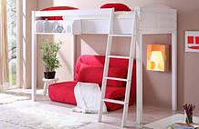 Ліжко-горище з місцем під диван