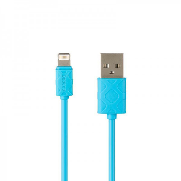 Кабель USB (папа) = Lightning (папа) 1м Baseus Yaven (CALUN-03) Blue