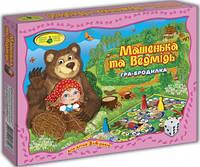 """Игра-бродилка """"Машенька и Медведь"""" 82463 коробка"""