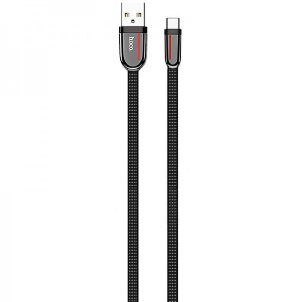 USB Cable Hoco U74 Grand Type-C Black 1m