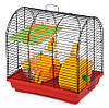 Клетка Бунгало-2 люкс для грызунов, цельная с аксессуарами, 335х230х365мм, цинк Кц 009