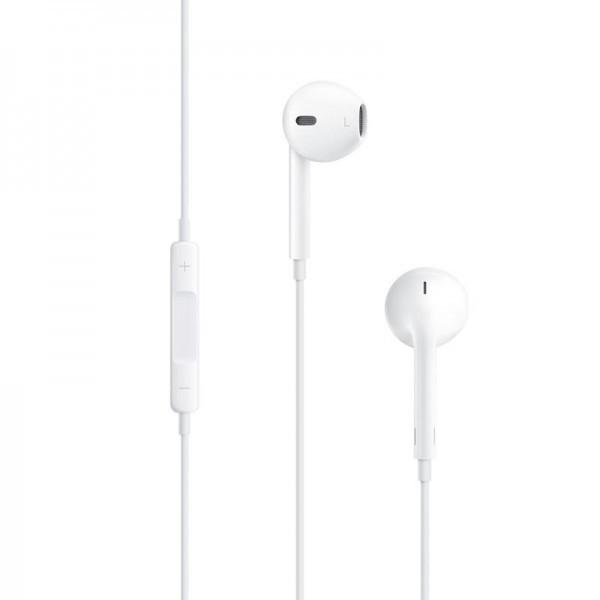 Навушники вкладиші провідні HF Phone 5 White з регулятором гучності