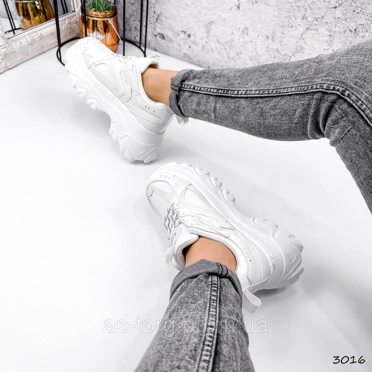 Кроссовки женские Nanto белые 3016