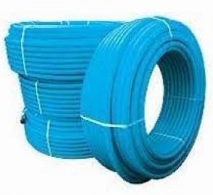 Труба полиэтиленовая 25 10 атм синяя (Украина)