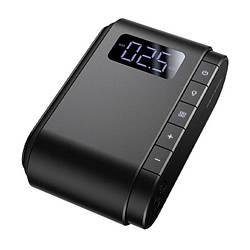 Портативний компресор для автомобіля Baseus Dynamic Eye Inflator Pump Black