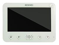 Видеодомофон Kenwei  E706C -W200 white