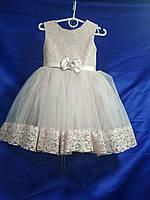 """Плаття дитяче бальне фатиновое з гіпюром на дівчинку 4-5років""""DIANA""""купити недорого від прямого постачальника"""