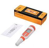 Комбинированный солемер и кондуктометр Smart Sensor AR8011 (TDS: 0-20 ppt; ЕС:0-20mS T: 0 -50, АТС), подсветка, фото 3