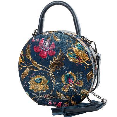 Женская кожаная сумка DESISAN SHI578-415