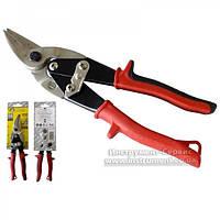Ножиці по металу 250 мм CR-V (лівий) СТАЛЬ, 41001