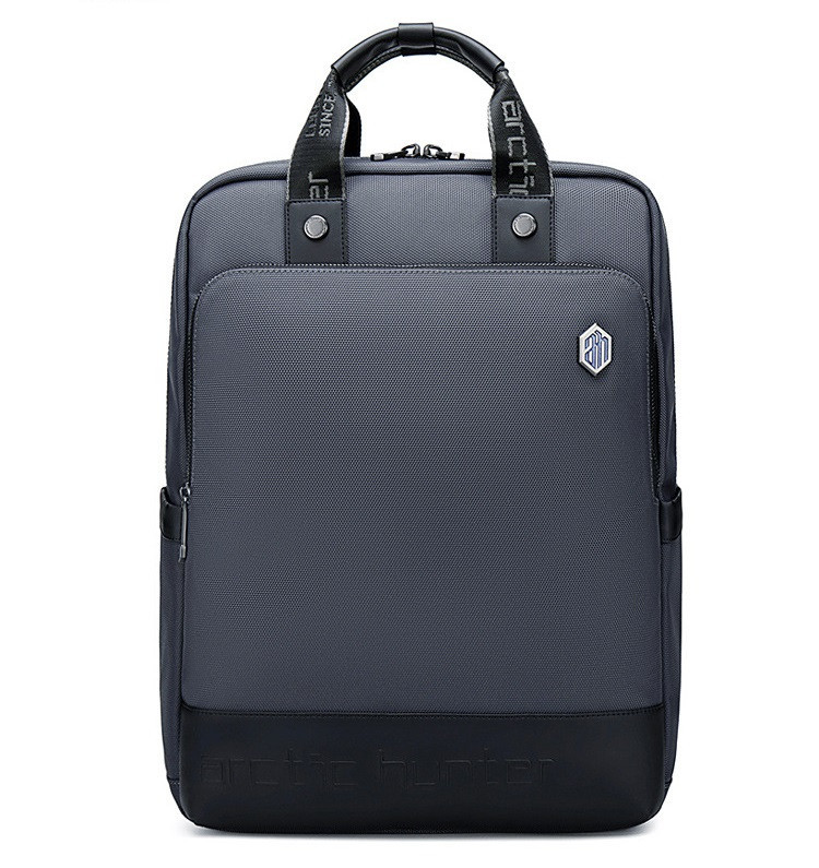 Городской рюкзак - сумка для ноутбука 15.6 Arctic Hunter B00398 деловой портфель (Gray)