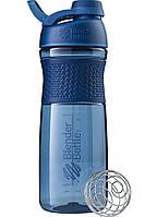 Спортивная бутылка-шейкер BlenderBottle SportMixer Twist 820ml Navy (ORIGINAL), фото 1