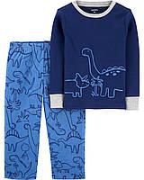 Пижама с флисовыми штанами для мальчика Carters Динозавр