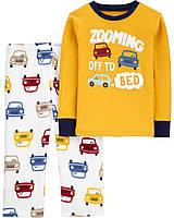 Пижама с флисовыми штанами для мальчика Carters Машины
