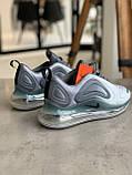 Кроссовки  Nike Air Max 720 Grey Найк Аир Макс 720 Серые (41,42,43,44,45), фото 3
