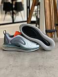 Кроссовки  Nike Air Max 720 Grey Найк Аир Макс 720 Серые (41,42,43,44,45), фото 4