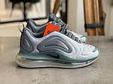 Кроссовки  Nike Air Max 720 Grey Найк Аир Макс 720 Серые (41,42,43,44,45), фото 9