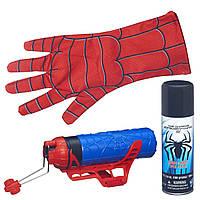 Бластер человека паука для паутины и воды, Spider-Man Blaster Web Shooter, Hasbro из США