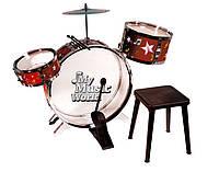 Барабанная установка со стулом Simba Toys 4012809