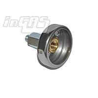 Адаптер к ВЗУ (пропан-бутан) для установки в бензо-заправочный люк, Tomasetto, шт