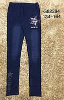 Лосины с имитацией джинсы для девочек Grace, 134-164 рр. Артикул: G82284 , фото 1