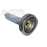 Адаптер к ВЗУ (пропан-бутан) для установки в бензо-заправочный люк удлиненный, Tomasetto, шт