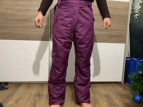 Сноуборд бордовые штаны горнолыжные тёплые штаны Thinsulate
