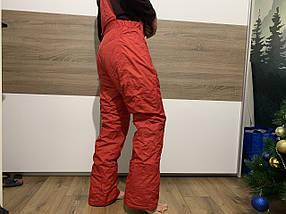 Сноуборд червоні штани гірськолижні теплі штани alpine Thinsulate
