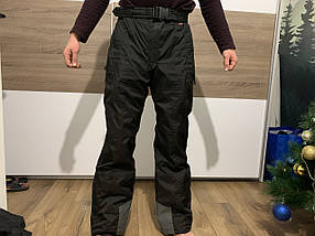 Горнолыжные тёплые штаны сноуборд  Thinsulate на подтяжках
