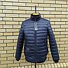 Чоловіча куртка демісезонна під гумку розміри 48-52, фото 5