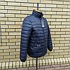 Чоловіча куртка демісезонна під гумку розміри 48-52, фото 6
