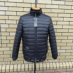 Демисезонная мужская куртка под резинку размеры 48-52