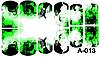 Слайдер дизайн (водная наклейка) для ногтей А-013