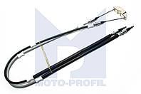 АНАЛОГ для Opel 522524 0522524 GM 24427061 Трос ручного (стояночного) тормоза длинный П-образный L= 1455 mm 0522524 0522412 24427061 90468900 OPEL