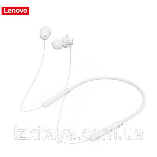 Наушники Bluetooth беспроводные Lenovo HE05 white наушники с блютузом