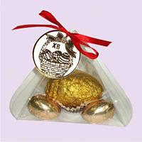 Пасхальное яйцо золотое