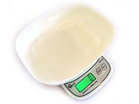 Весы кухонные QZ-158 до 10 кг с чашей