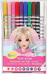 TOP Model Magic ручки из волокон /магические фломастеры Jill (Набор фломастеров кистей ТОП Модел depesche 107