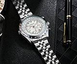 Jaragar Мужские часы Jaragar Steel White, фото 6